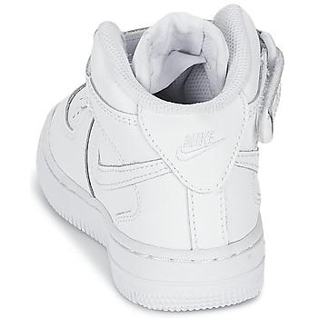Nike AIR FORCE 1 MID Blanc