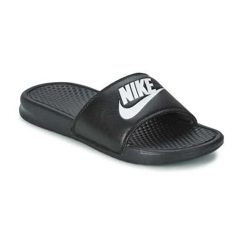 Chaussures Homme Baskets basses Nike BENASSI JUST DO IT Noir