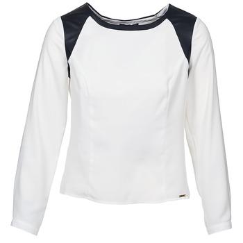 Vêtements Femme Tops / Blouses La City LAETITIA Ecru / Noir