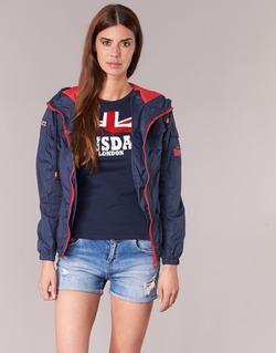Vêtements Femme Blousons Lonsdale GLOUCHESTER Marine