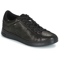 Chaussures Femme Baskets basses Geox D JAYSEN Gris / Noir