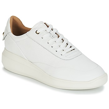 Chaussures Femme Baskets basses Geox D RUBIDIA Blanc