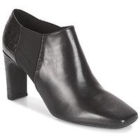 Chaussures Femme Low boots Geox D VIVYANNE HIGH Noir