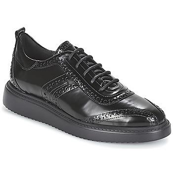 Chaussures Femme Derbies Geox D THYMAR Noir