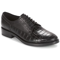 Chaussures Femme Derbies Geox DONNA BROGUE Noir