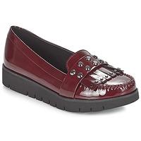 Chaussures Femme Mocassins Geox D BLENDA Bordeaux