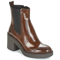 Chaussures Femme Bottines Geox D ADRYA MID Marron