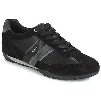 Chaussures Homme Baskets basses Geox U WELLS Noir / Marine