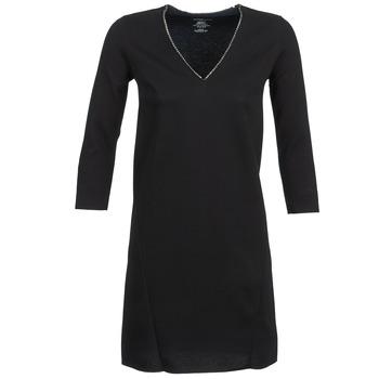 Vêtements Femme Robes courtes Majestic BRUNEHILDE Noir