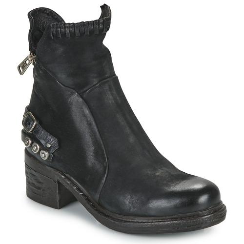 Chaussures Femme Boots Airstep / A.S.98 NOVA 17 Noir