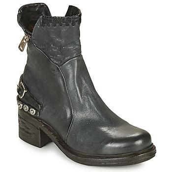 Chaussures Femme Boots Airstep / A.S.98 NOVA 17 Bleu / Noir