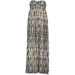 Vêtements Femme Robes longues Le Temps des Cerises GOTA Gris / Blanc