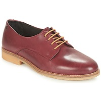 Chaussures Femme Derbies Casual Attitude JAGAZZA Bordeau