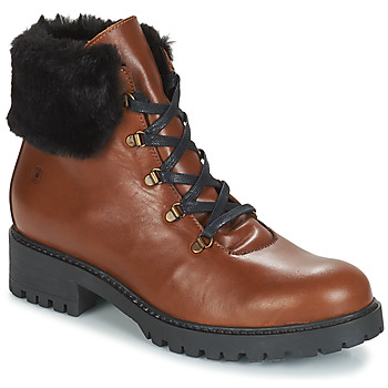 Chaussures Femme Boots Casual Attitude JENO Cognac