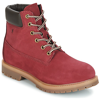 Chaussures Femme Boots Casual Attitude JORD Rouge