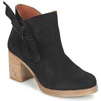 Chaussures Femme Bottines Casual Attitude HIRCHE Noir