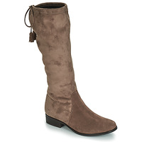 Chaussures Femme Bottes ville André POLKA Taupe