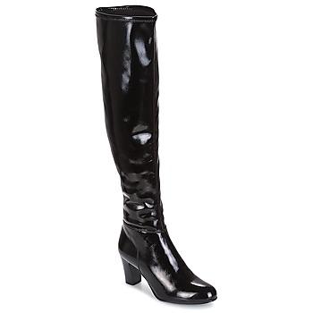 Chaussures Femme Bottes ville André PRISCA 2 Noir