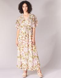 Vêtements Femme Robes longues Derhy ALEXANDRIN Ecru