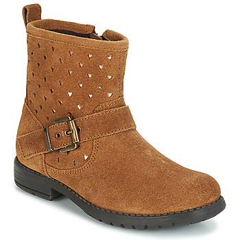 Chaussures Fille Boots André SALMA Camel