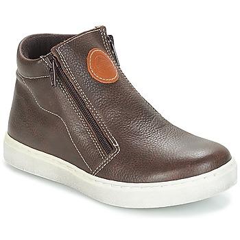 Chaussures Garçon Boots André HECTOR Marron