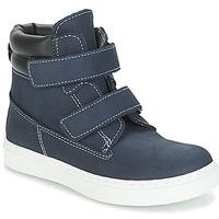 Chaussures Garçon Boots André ALESSIO Marine