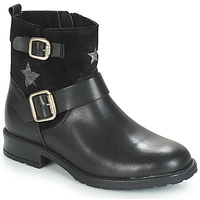 Chaussures Fille Boots André COUNTRY GIRL Noir
