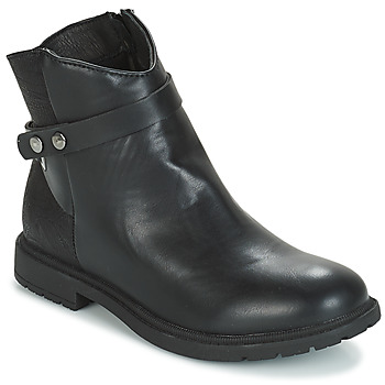 Chaussures Fille Boots André LOELIE Noir