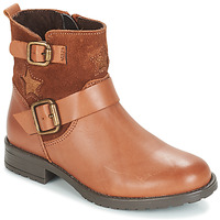 Chaussures Fille Boots André COUNTRY GIRL Camel