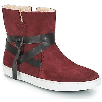 Chaussures Femme Boots André ALTHEA Bordeaux