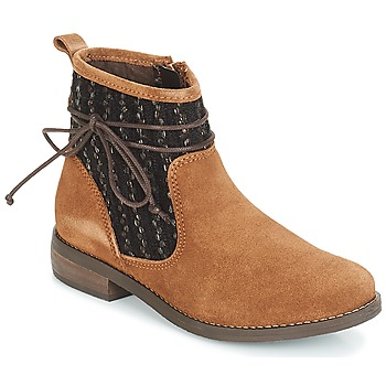 Chaussures Femme Boots André MEXICA Marron