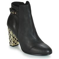 Chaussures Femme Bottines André SOIR Noir