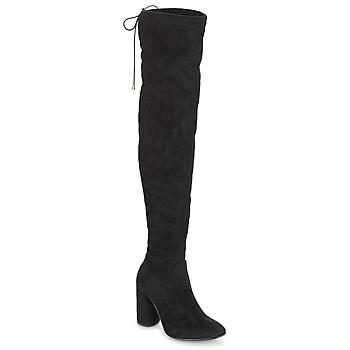 Chaussures Femme Cuissardes André VELOURS Noir