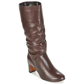 Chaussures Femme Bottes ville André SARA Marron