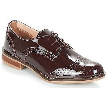 Chaussures Femme Derbies André PLYMOUTH Bordeaux