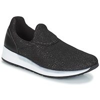 Chaussures Femme Slip ons André RHINESTONE Noir