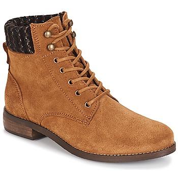 Chaussures Femme Boots André CARMINA Camel