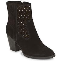 Chaussures Femme Bottines André DELIA Noir