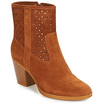 Chaussures Femme Bottines André DELIA Camel