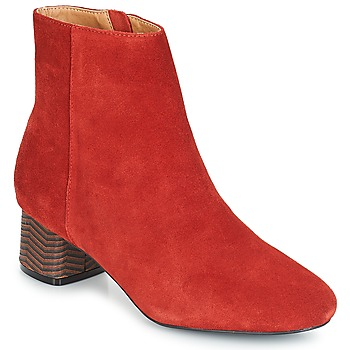 Chaussures Femme Bottines André EUFORIA Rouge