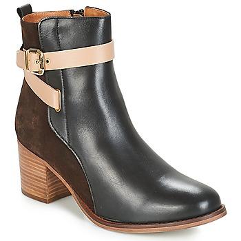 Chaussures Femme Bottines André NATANAEL Noir