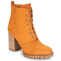 Chaussures Femme Bottines André ROVER Jaune