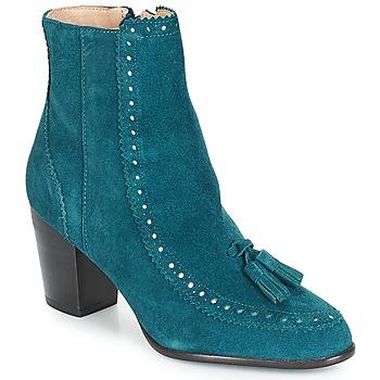 Chaussures Femme Bottines André DORIANE Bleu