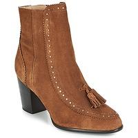 Chaussures Femme Bottines André DORIANE Camel