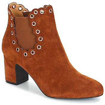 Chaussures Femme Bottines André ALESSIA Camel