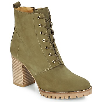 Chaussures Femme Bottines André ROVER Kaki
