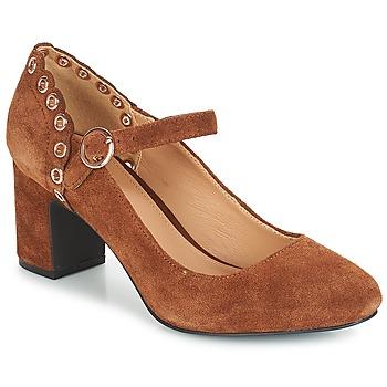 Chaussures Femme Escarpins André ALDA Camel