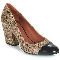 Chaussures Femme Escarpins André FAUVE Beige