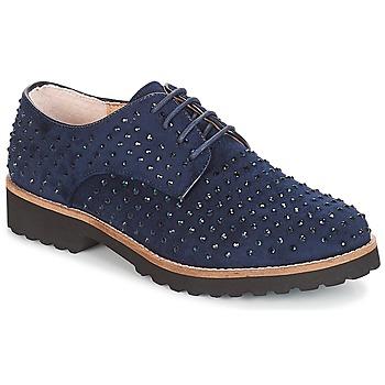 Chaussures Femme Derbies André CLAVA Bleu