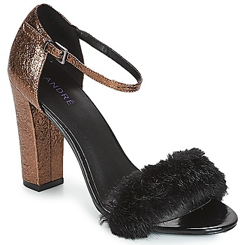 Chaussures Femme Sandales et Nu-pieds André WANDA Noir